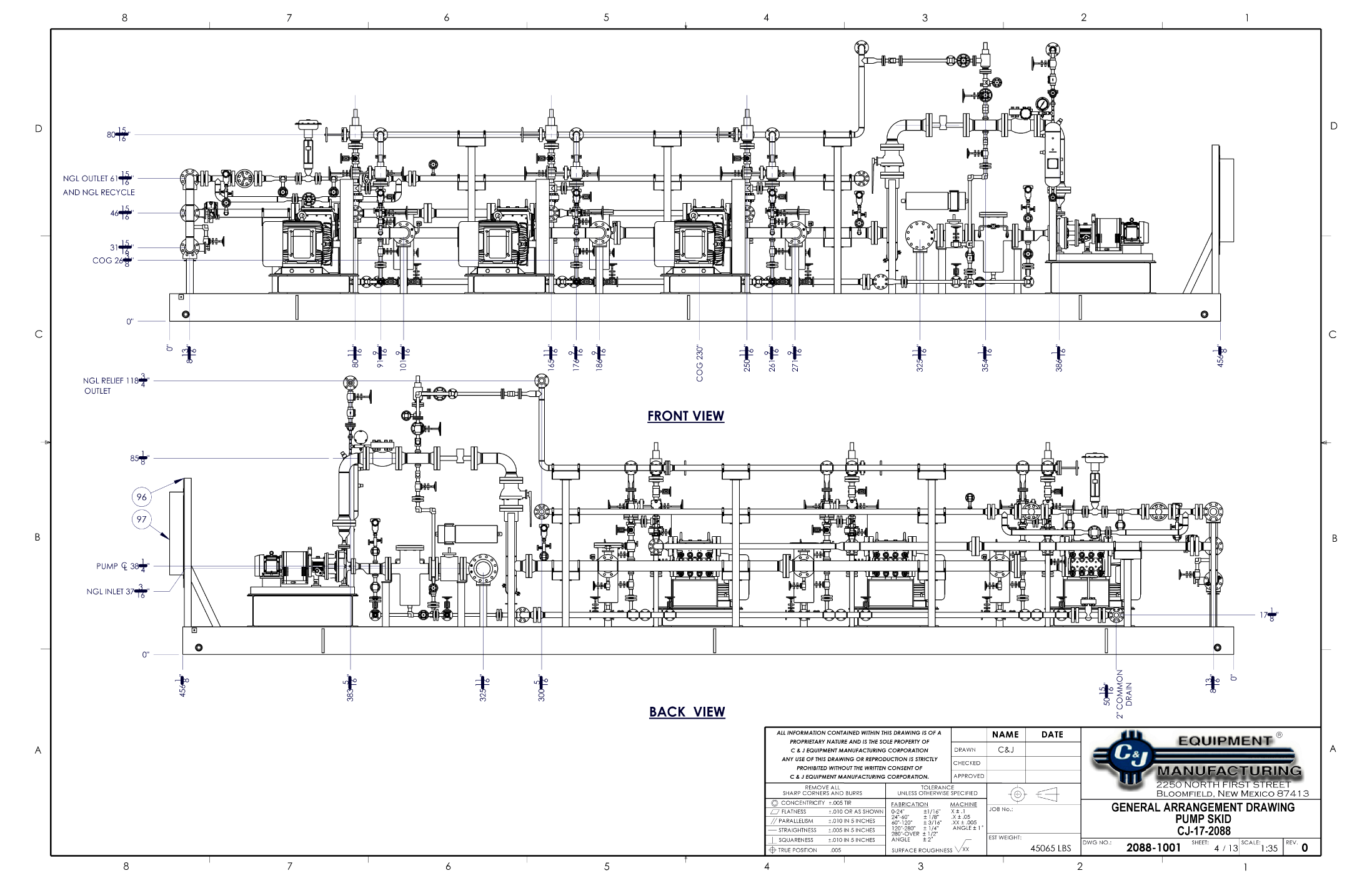Engineering Design Cj Equipment Diagram